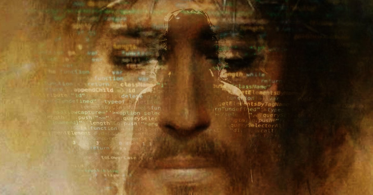 1 8.jpg?resize=1200,630 - Crean Clon De Jesús Con Inteligencia Artificial Y Comienza A Emitir Profecías Apocalípticas