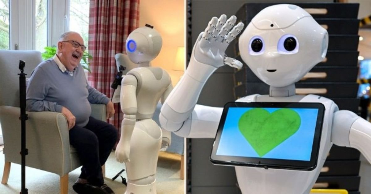1 90.jpg?resize=1200,630 - Talking Robots Might Be The Solution For Loneliness And Boost Mental Health In Care Homes