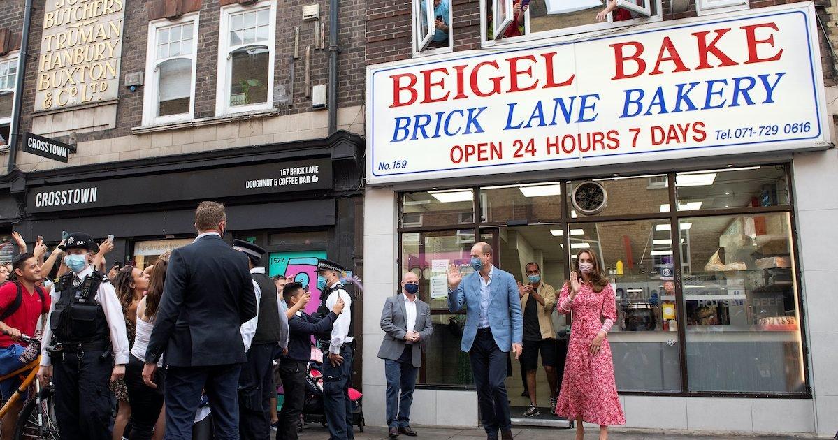 2 55521742 e1600295621635.jpg?resize=412,232 - Le duc et la duchesse de Cambridge ont visité une boulangerie à Londres