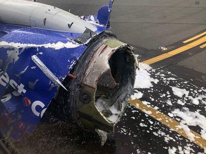 Un día después de la tragedia de la turbina, otro vuelo de Southwest Airlines debió hacer un aterrizaje de emergencia - Infobae