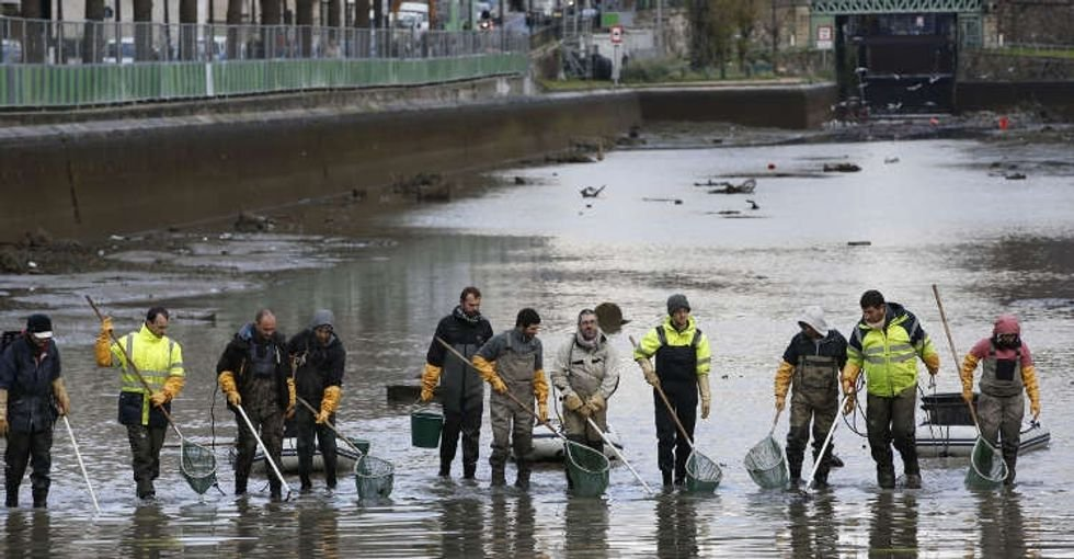did you see paris canal drained