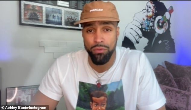 Candid: Ashley Banjo revealed on Sunday he and Diversity have been the target of