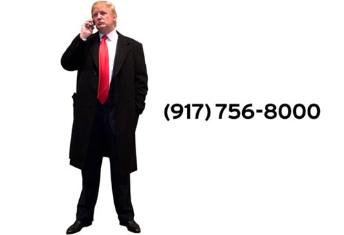 Donald Trump phone number 2020