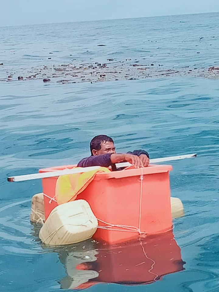 The fisherman was found on September 17