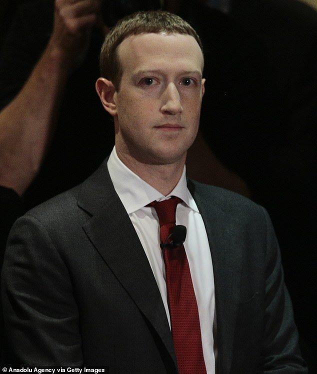 Eradicating hate: The actress called on Zuckerberg and Sandberg to