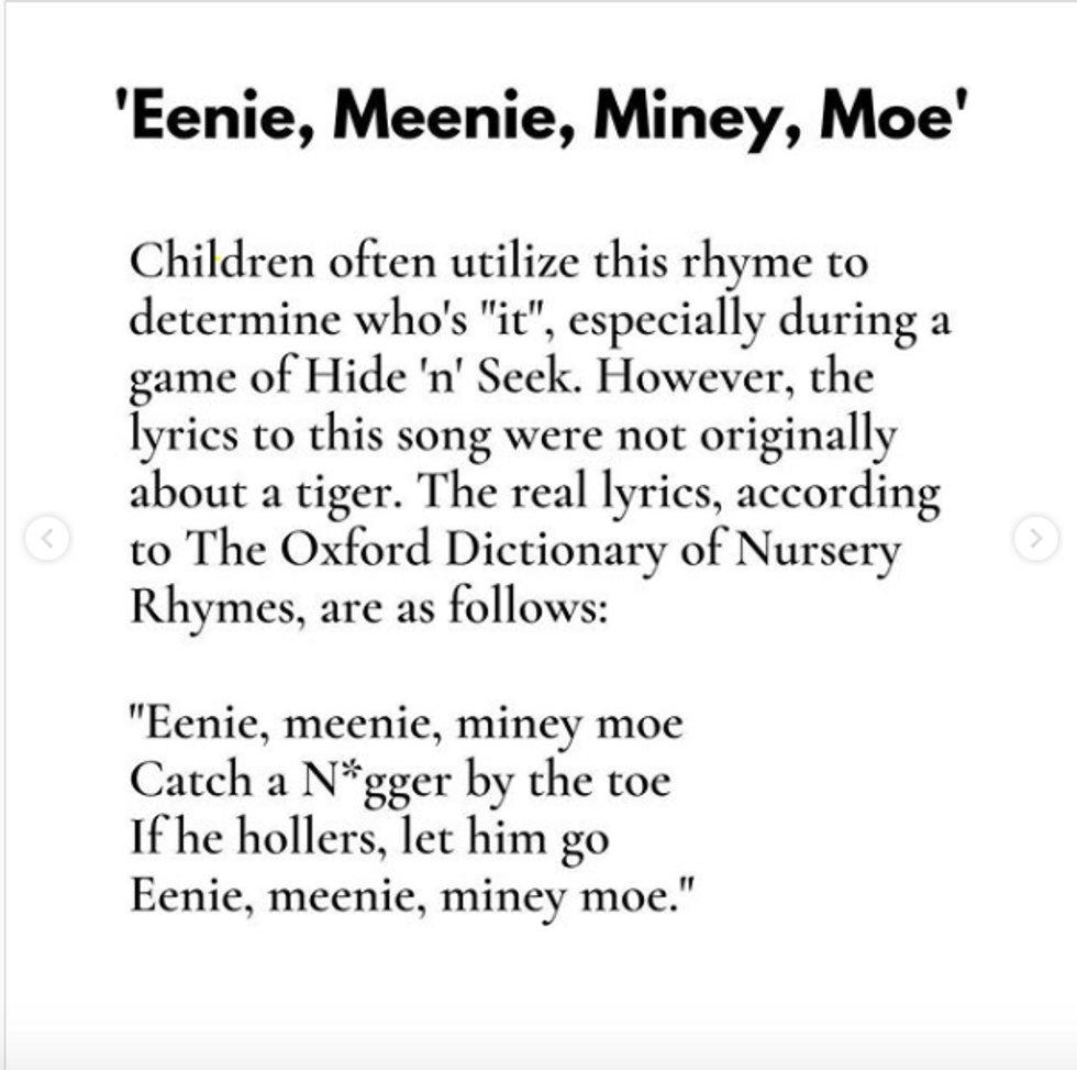 Racist Children Rhymes