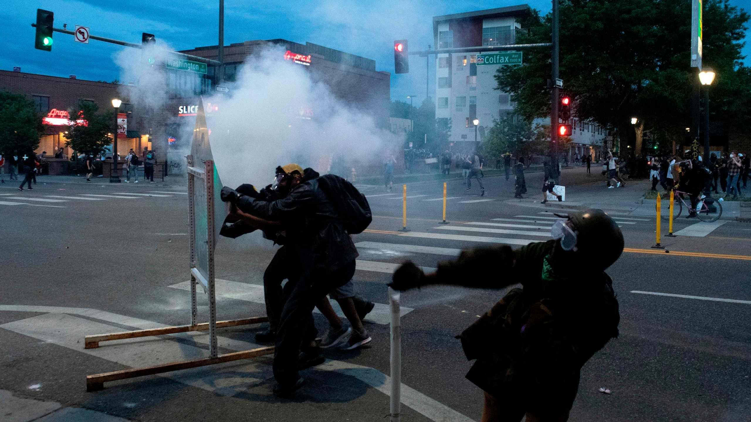 DENVER BLACK LIVES MATTER PROTESTS: 75 Denver police officers injured  during George Floyd protests and riots