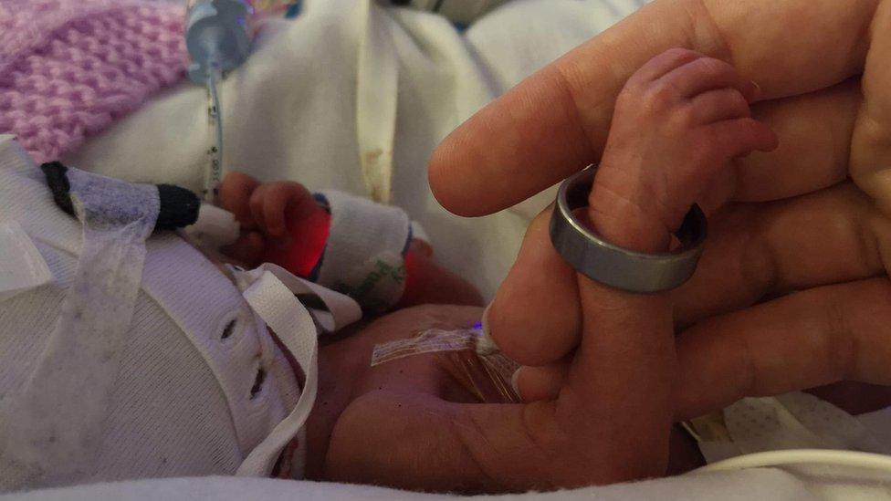 woman gives birth