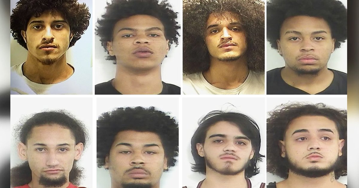 8 men arrested.jpg?resize=1200,630 - 8 Men Charged For Sexually Assaulting Unconscious Teen At Party As Attack's Video Goes Viral