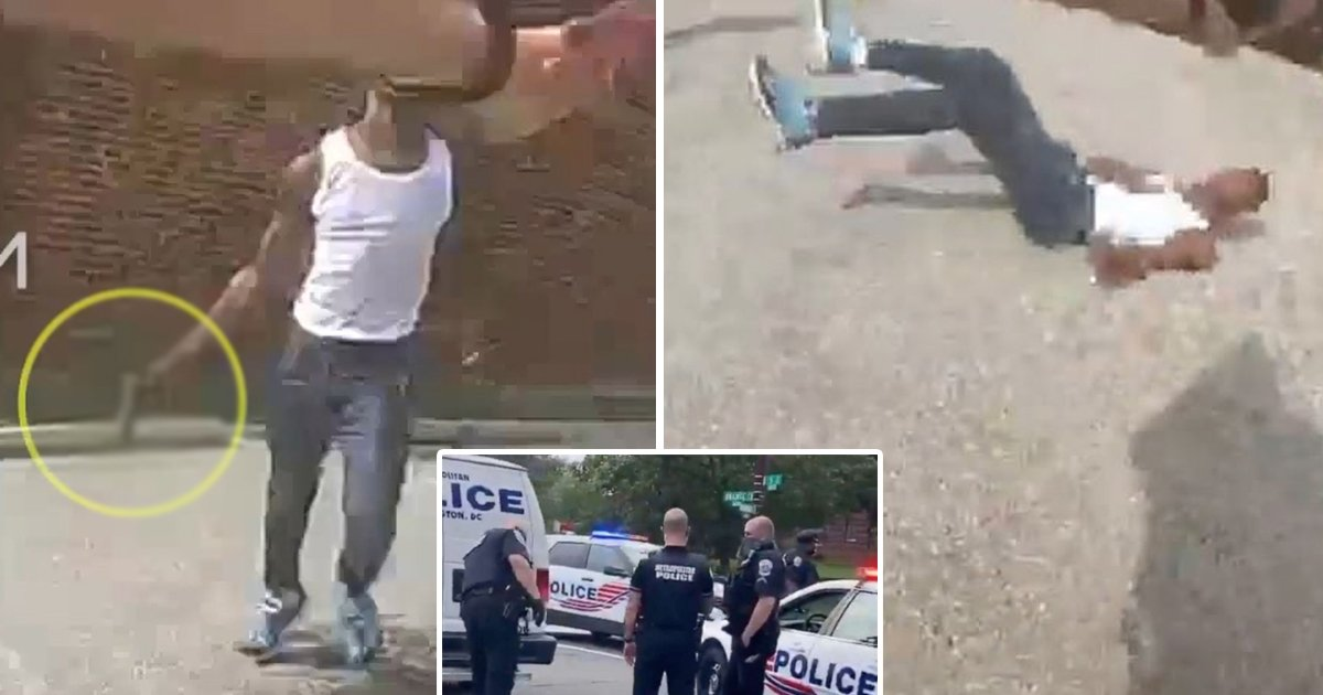 adsfasf.jpg?resize=1200,630 - Bodycam Footage Shows DC Police Fatally Shooting Black Teen Dead After Pulling A Gun