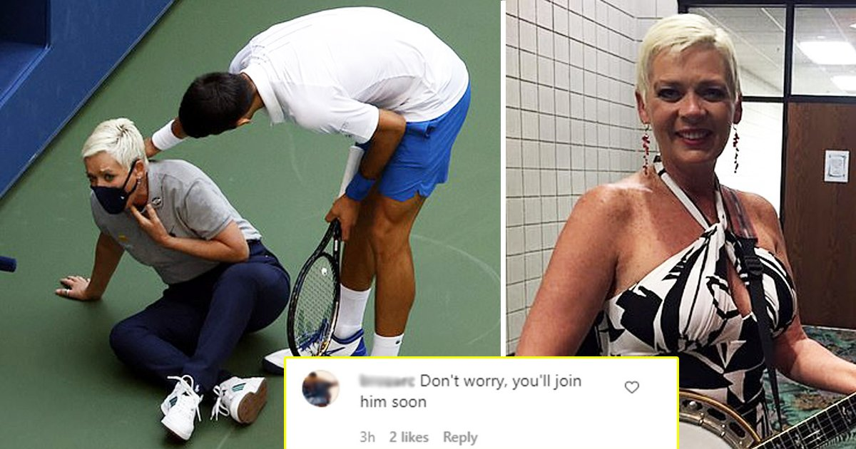 aggasdgag.jpg?resize=1200,630 - Novak Djokovic Disqualification: Line Judge Received Death Threats And Messages Mocking Her Dead Son