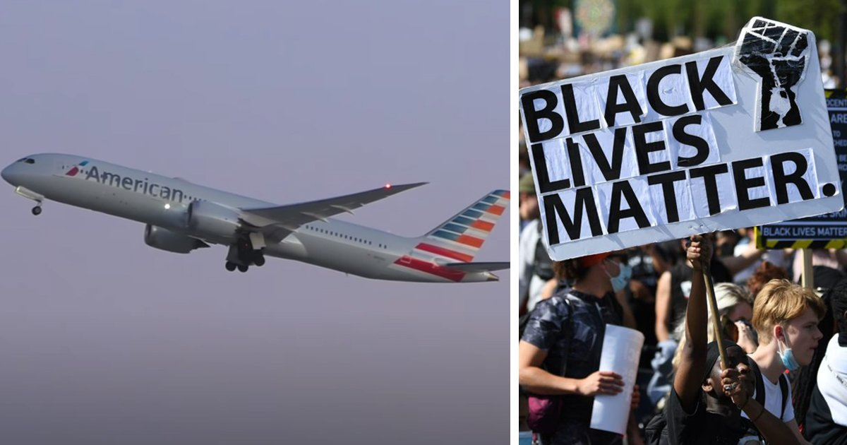 as.jpg?resize=1200,630 - American Airlines Policy Allowing Cabin Crew To Wear Black Lives Matter Pins Faces Backlash