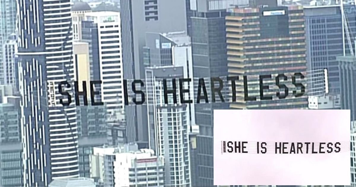banner4.jpg?resize=1200,630 - Outraged Man Spent Decent Sum Of Money To Fly 'She Is Heartless' Banner To The Skies