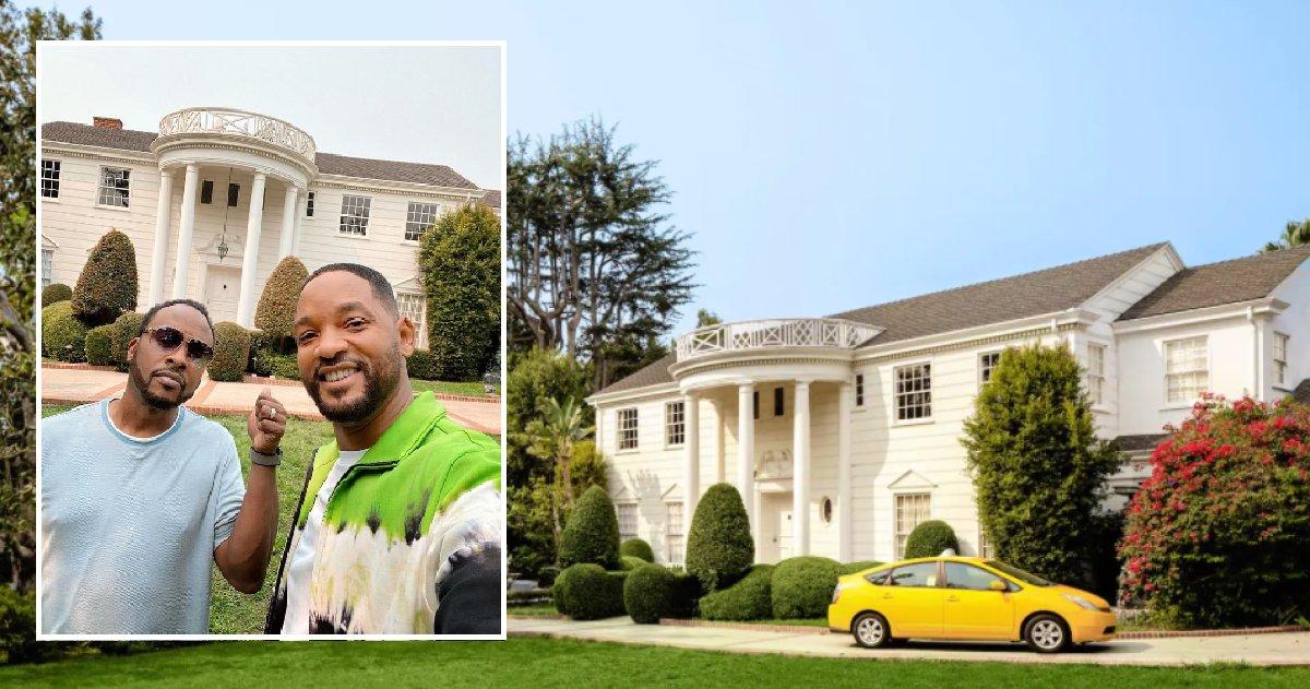 """bel air.png?resize=1200,630 - Will Smith vient d'annoncer que la maison du """"Prince de Bel-Air"""" est à louer sur Airbnb"""