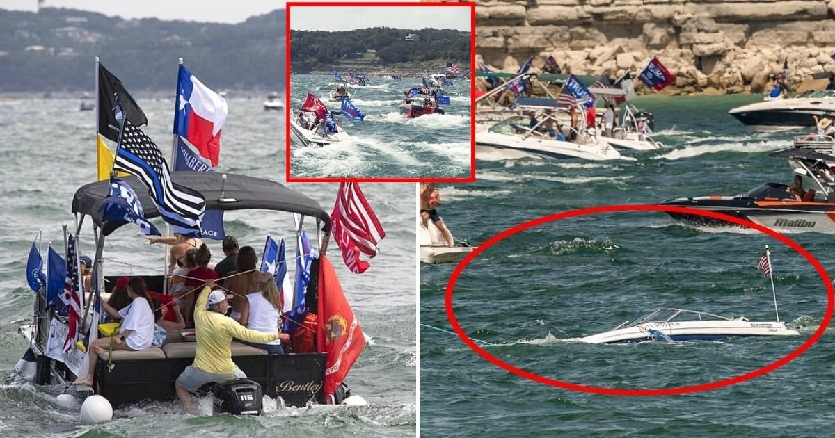 boats5.jpg?resize=1200,630 - Multiple Boats Have Sunk During Boat Parade On Lake Travis, Texas