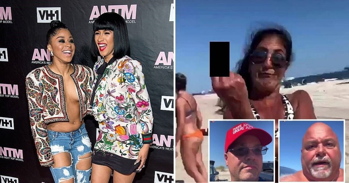 cardi5 1.jpg?resize=412,232 - Cardi B And Sister Hennessy Carolina Sued For Defamation By A Group Of Beachgoers