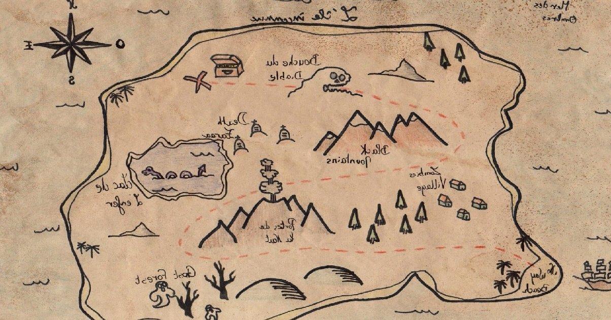 cat.jpg?resize=1200,630 - Une carte au trésor datant de novembre 1980 a été retrouvée dans les toilettes d'une école