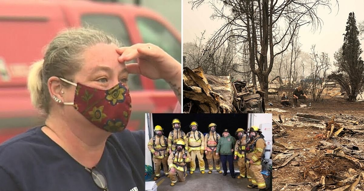 chief7.jpg?resize=1200,630 - Fire Chief Broke Down In Tears As She Told Her Family They Lost Their Home To Wildfire As She Fought Another Blaze