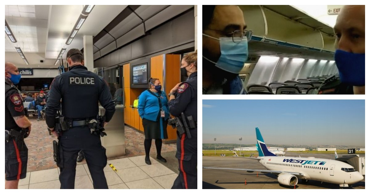 collage 28.jpg?resize=1200,630 - Family Allegedly Threatened to Be Arrested On Flight For Not Putting A Mask On Toddlers