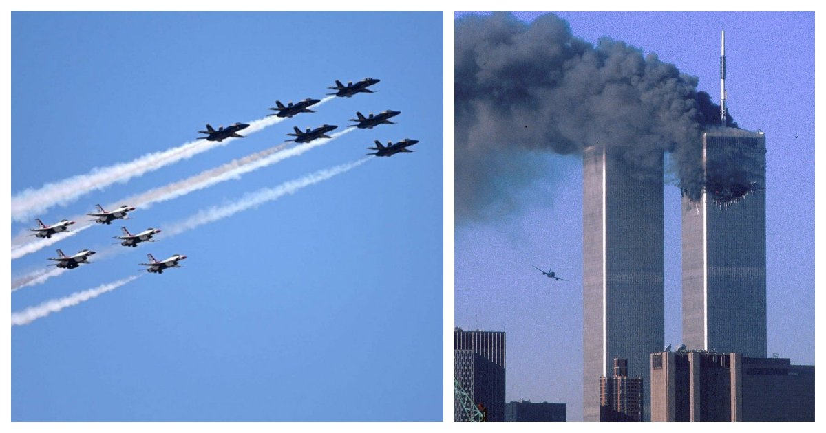 collage 30.jpg?resize=1200,630 - US Navy Cancels Jet Flyover Which Was Scheduled To Commemorate The 9/11 Attacks
