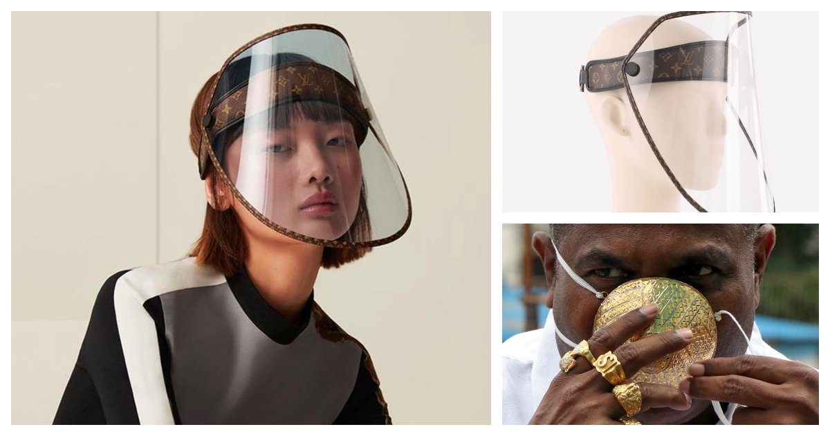collage 31.jpg?resize=1200,630 - Protect Yourself in Style - Louis Vuitton to Launch A $961 Face Shield