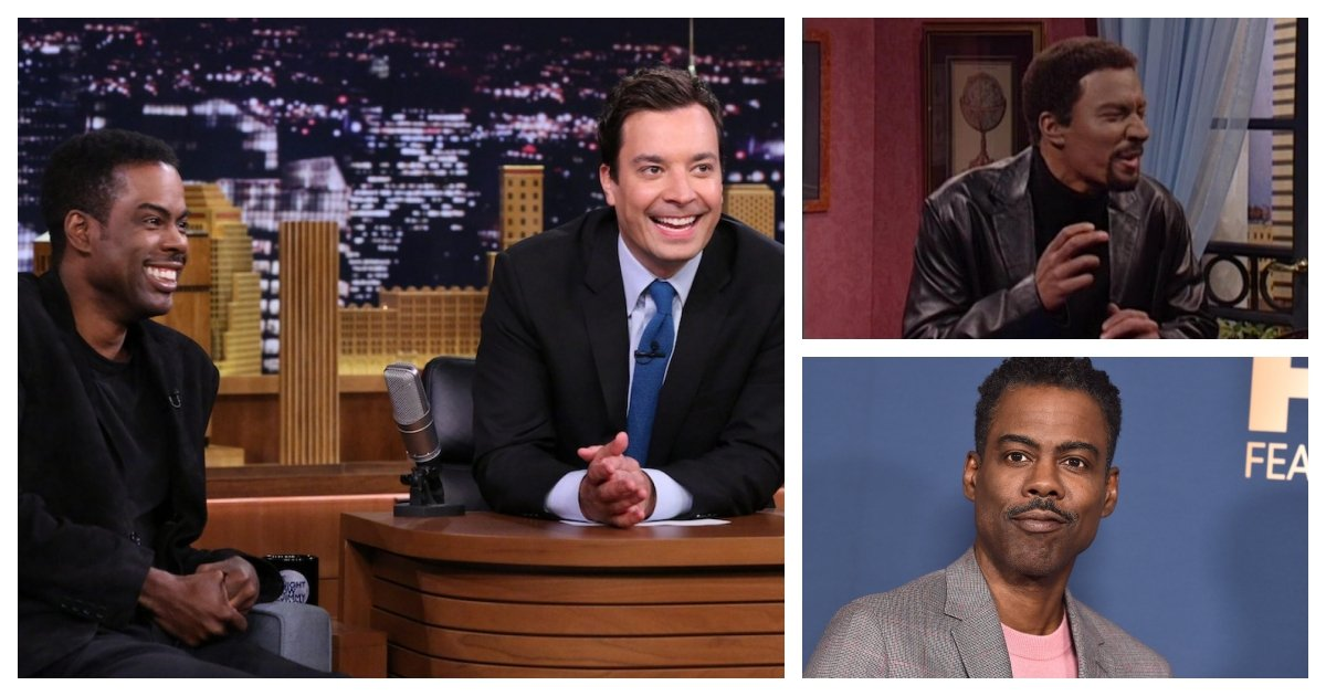 collage 47.jpg?resize=1200,630 - Chris Rock Defends Jimmy Fallon Although Fallon Used Blackface to Portray Him On SNL