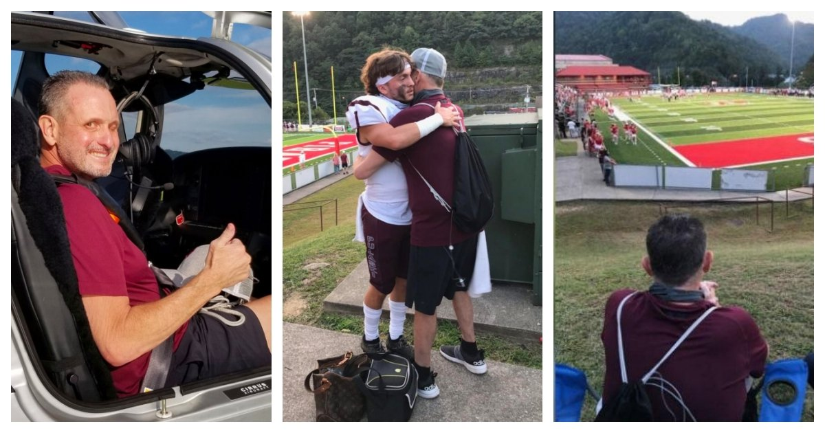 collage 50.jpg?resize=412,275 - Dad With Just Weeks To Live Got To See His Son's Football Game Thanks to A Kind Nurse