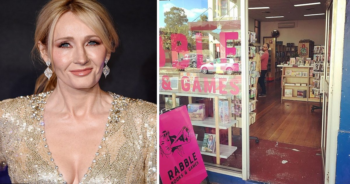 dasfdfg.jpg?resize=1200,630 - Bookshop Takes Stand Against J.K. Rowling's Transphobia by Banning Harry Potter Books