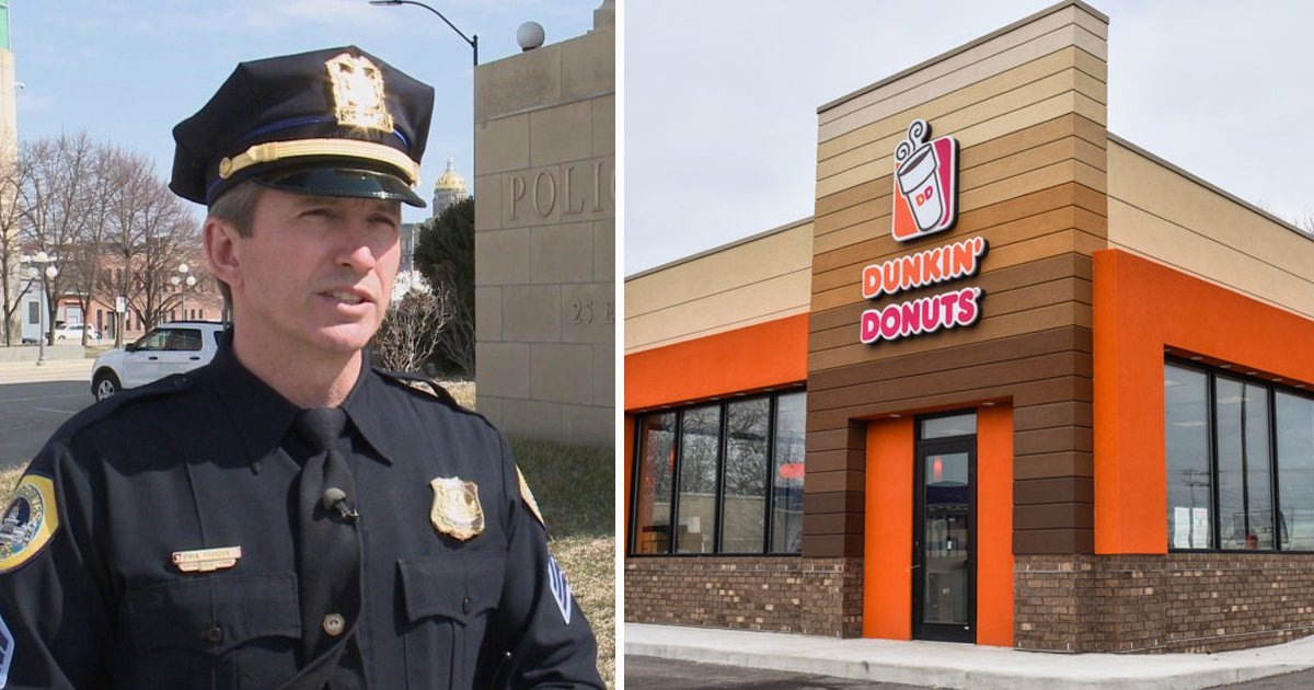dfsdfsd.jpg?resize=1200,630 - Police Officer Denied Service At Dunkin' Donuts Because Of His Blue Line Hat