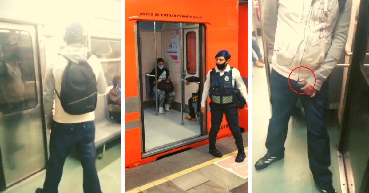 diseno sin titulo 1 2.png?resize=412,232 - Usuaria Graba A Un Hombre Que La Estaba Acosando En El Vagón Exclusivo Del Metro