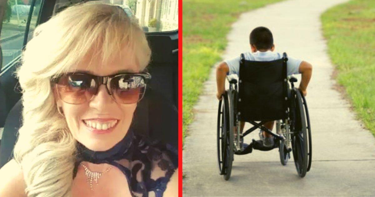 diseno sin titulo 34.png?resize=1200,630 - Mujer Adoptó Un Niño Discapacitado Para Quitarle Miles De Dólares Y Cumplir Sus Caprichos