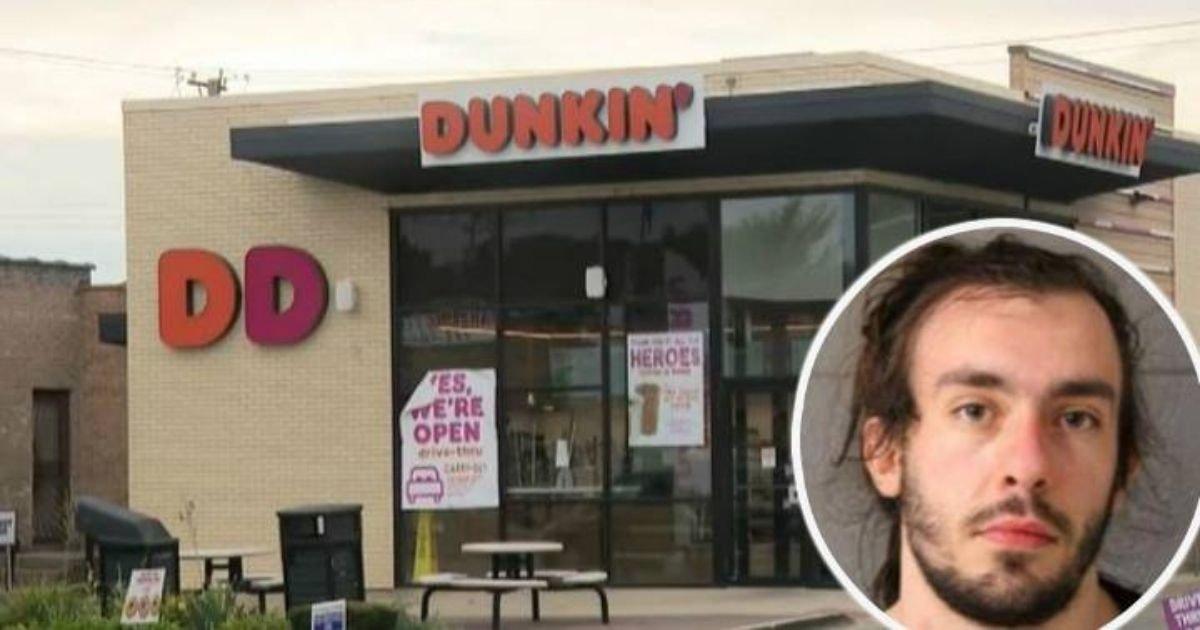 diseno sin titulo 40 1.jpg?resize=1200,630 - Trabajador De Dunkin Donuts ColocóUn Trozo Grueso De Moco En El Café De Un Oficial De Policía