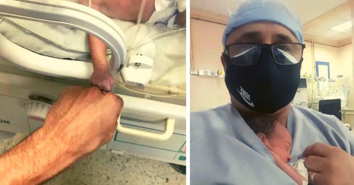 diseno sin titulo 5.png?resize=1200,630 - Enfermero Salvó A Una Bebé Prematura Después De Que Se Quedara Sola Tras Fallecer Su Madre