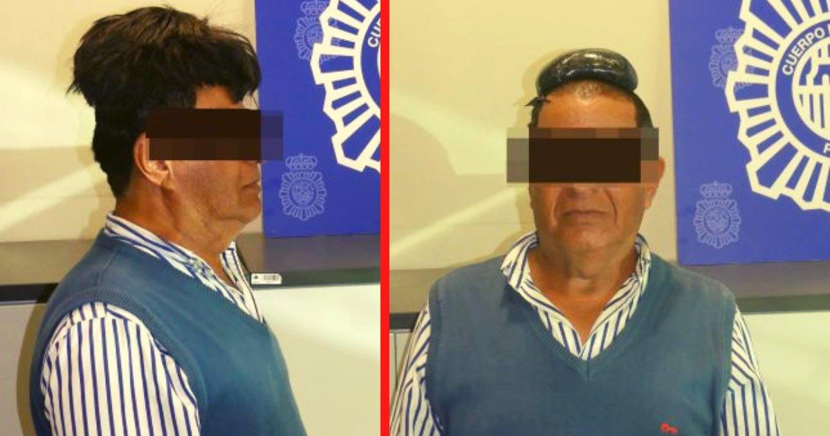diseno sin titulo 83.png?resize=1200,630 - Un Hombre Fue Capturado Con Medio Kilo De Droga Debajo De Su Peluquín En El Aeropuerto