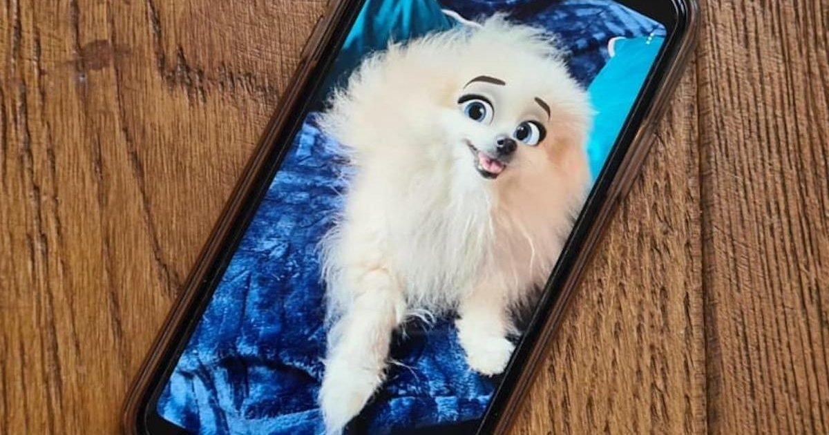 disney filter snapchat thumb1200 4 3 e1599064471684.jpg?resize=412,232 - Cartoon Face : le filtre Snapchat qui transforme votre chien en un personnage Disney