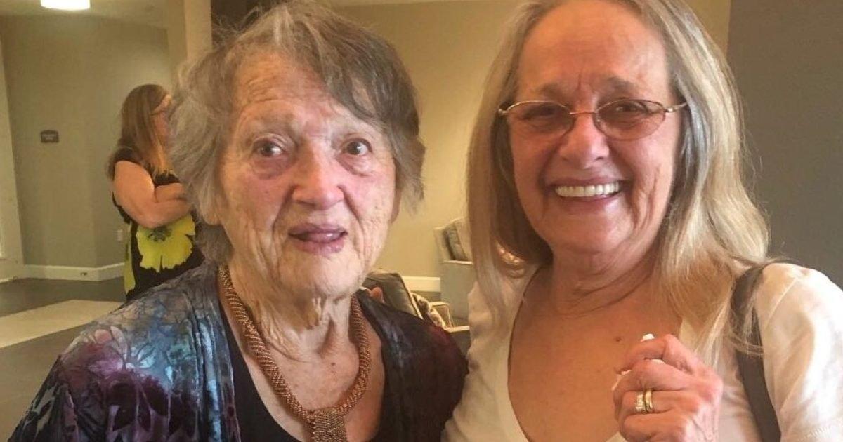 download 3 1 e1599507764214.jpeg?resize=412,232 - Un kit ADN réunit une mère de 88 ans et sa fille qu'elle croyait morte il y a 69 ans