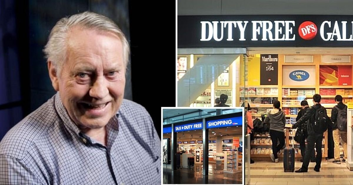 duty5.jpg?resize=1200,630 - Duty Free Shoppers Co-Founder Is Now Broke After Giving Away All Of His Wealth, And He Couldn't Be Happier