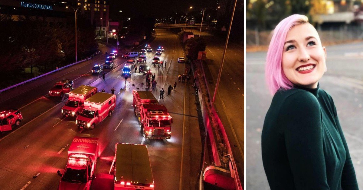 e18486e185aee1848ce185a6 99.jpg?resize=1200,630 - The Speeding Car Hit The 'Black Lives Matter' Protesters, Taking Away The Life Of A Woman