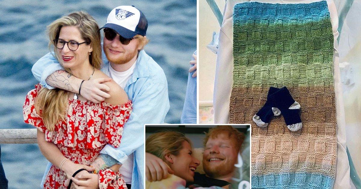 ed sheeran.jpg?resize=1200,630 - Singer Ed Sheeran And Wife Cherry Seaborn Welcome Baby Girl Lyra Antarctica