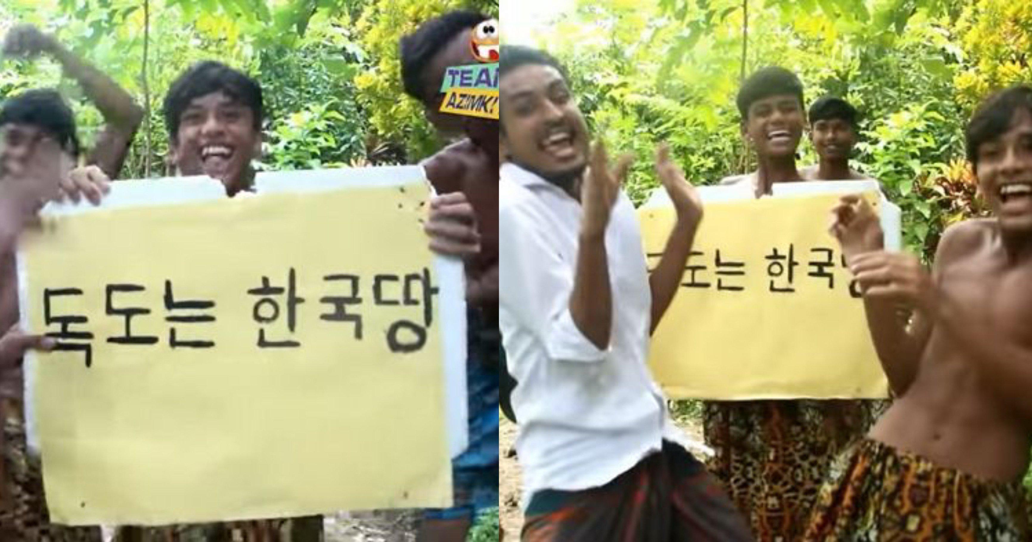 """ed959ceab5adeb9585 ec8db8eb84ac.jpg?resize=1200,630 - """"독도는 한국땅!...""""...한국어로 메세지 읽어주는 '외국인 유튜버'가 올린 한국인 취향 저격 영상"""