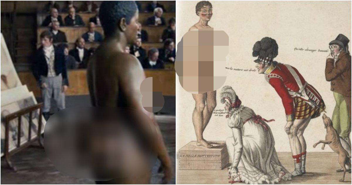fghj.png?resize=412,275 - 한평생, 그리고 '사후 200년'동안 백인들의 '구경거리'로 전락했던 한 여성