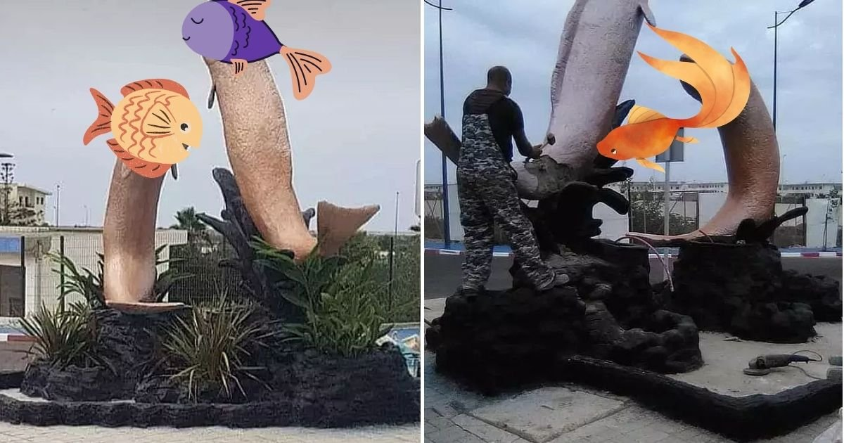 fish4.jpg?resize=412,275 - Authorities Demolish Fish Statues After A Photo Of Them Went Viral And Sparked Outrage