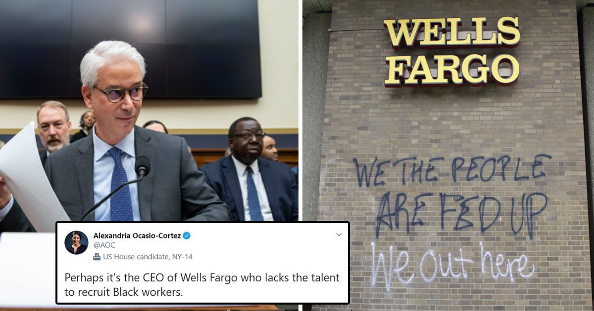 fsdfsdfs.jpg?resize=1200,630 - Wells Fargo CEO Apologizes For Linking Bank's Lack Of Diversity With 'Limited' Talent In Blacks