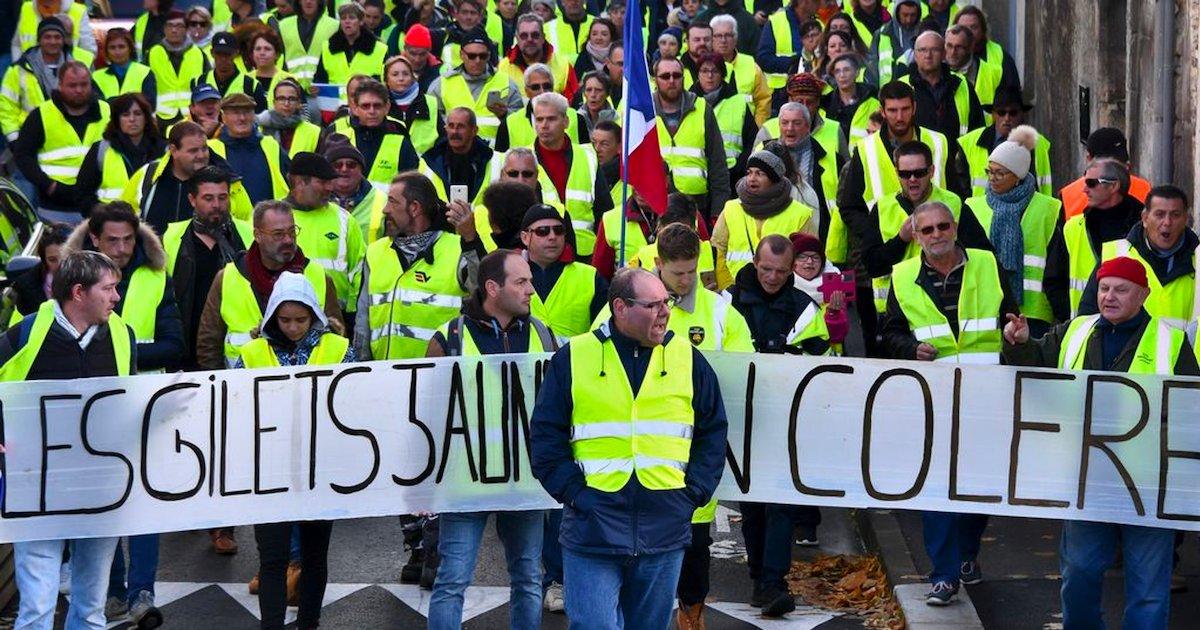 gilets jaunes.png?resize=1200,630 - Les gilets jaunes ne pourront pas manifester dans certains secteurs à Paris ce samedi