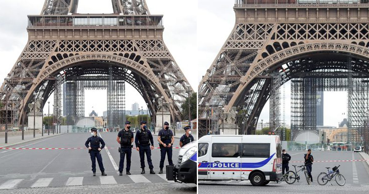 hrsyh.jpg?resize=1200,630 - Eiffel Tower Is Evacuated As Police Rush To 'Bomb Threat'