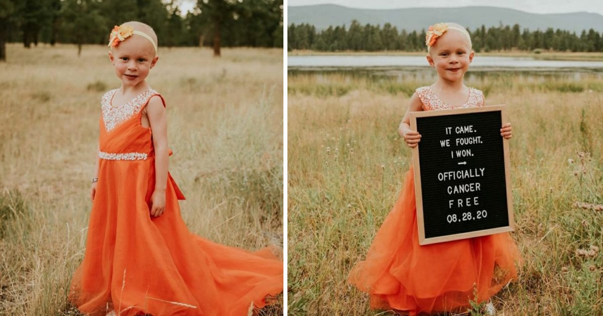 hsdfs.jpg?resize=412,232 - Four-Year-Old Cancer Survivor Enjoys Remission With A Gorgeous Photoshoot
