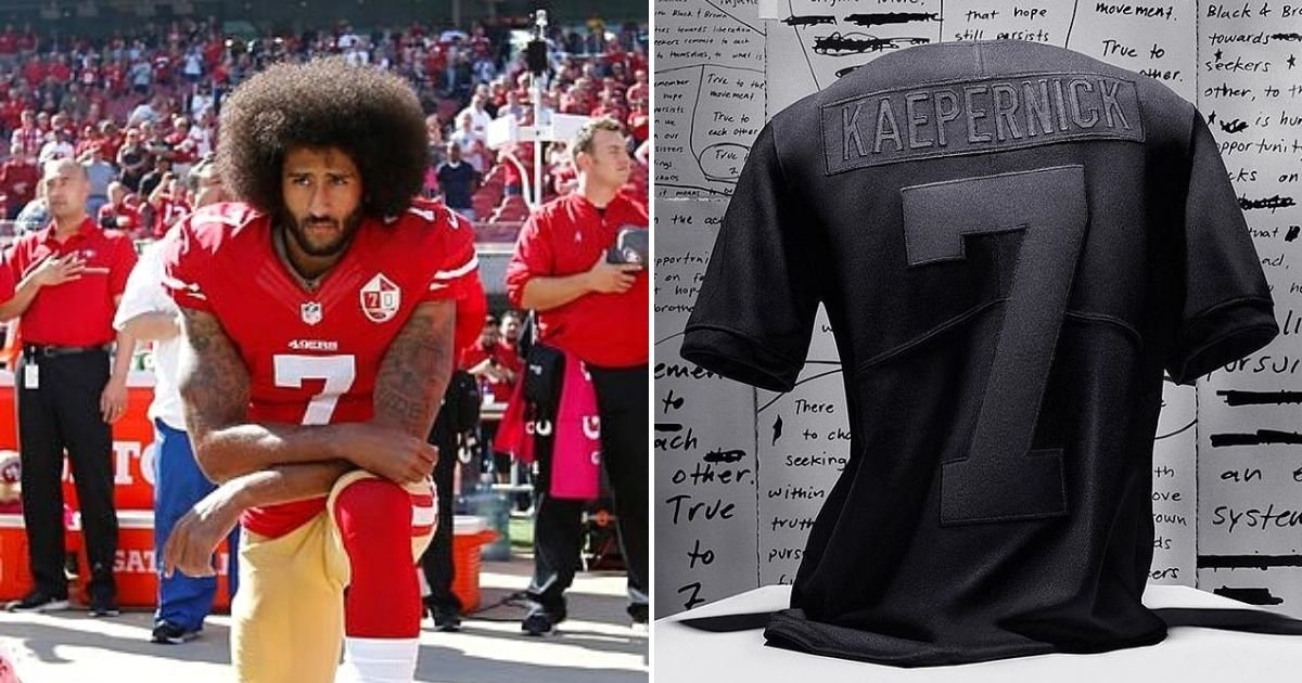 jersey5.jpg?resize=1200,630 - Nike's New Colin Kaepernick Replica Jersey Commemorating His 2016 Protest Sells Out In Just Minutes