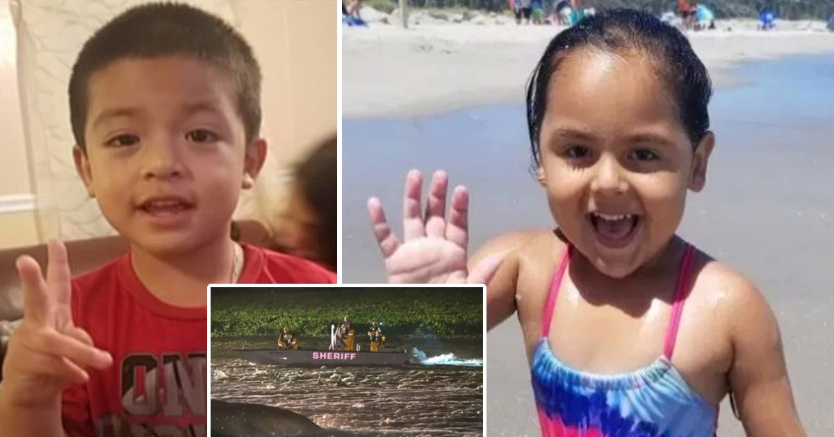 jhkhk.jpg?resize=412,232 - Flash Flood Sweeps Away 4-year-Old Boy And His 5-Year-Old Sister In North Carolina