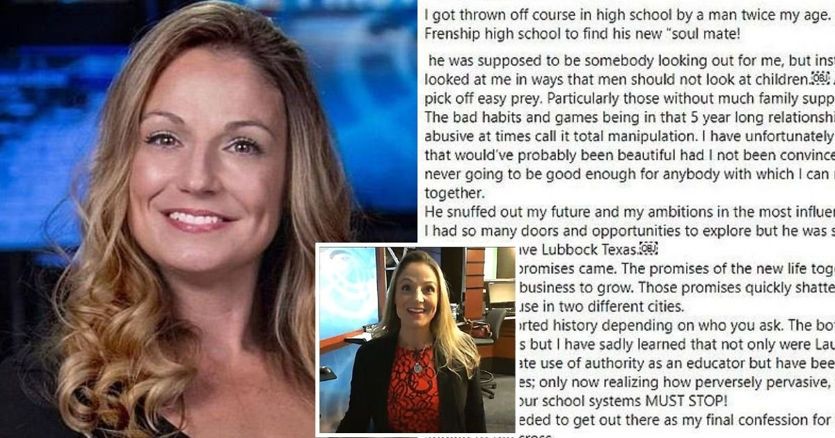 kelly6.jpg?resize=1200,630 - Weather Reporter Dies After Sharing Heartbreaking Post Claiming Her High School Band Director Was A 'Predator'