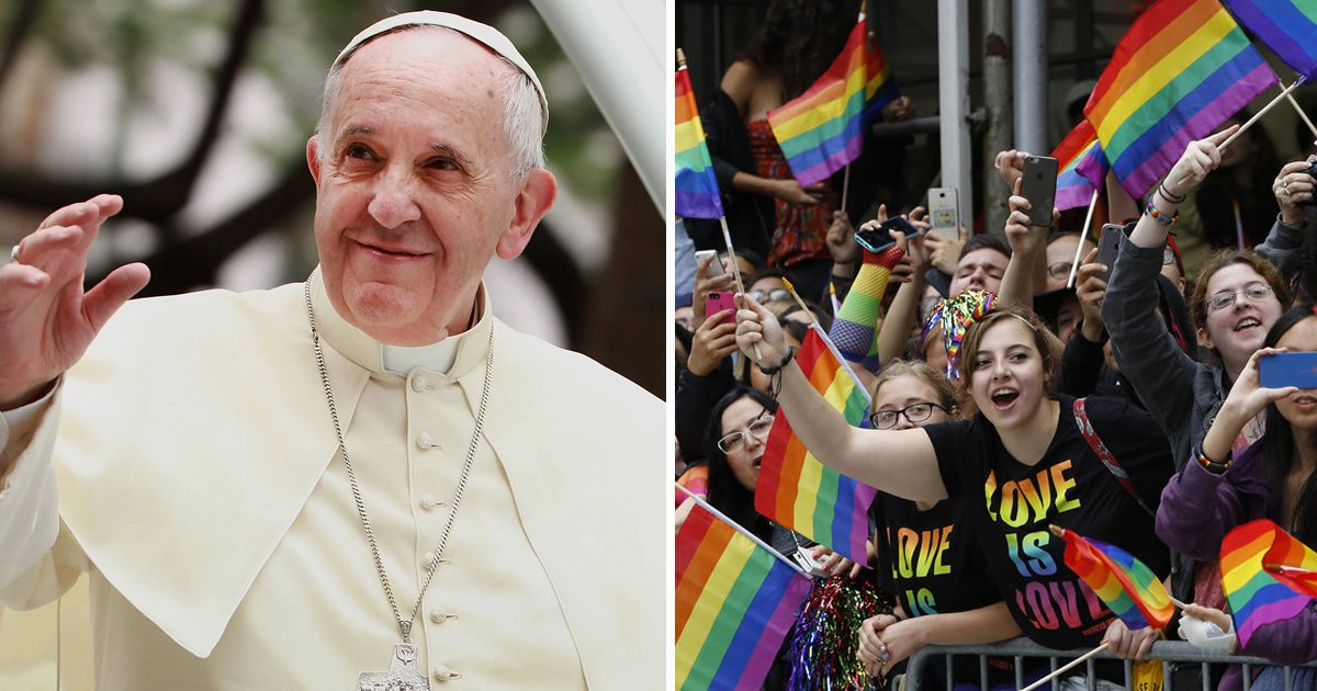 lgbt.jpg?resize=1200,630 - Pope Francis Advocates For LGBT Children By Telling Their Parents 'God Loves Your Children As They Are'